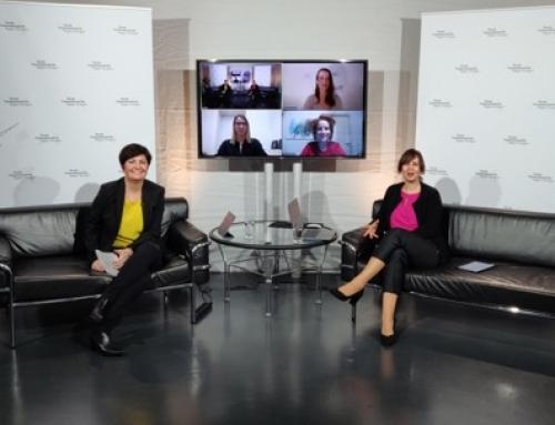 Kerstin Heiligenstetter und Annett-Katrin Wohlgemuth moderieren virtuellen Neujahrsempfang